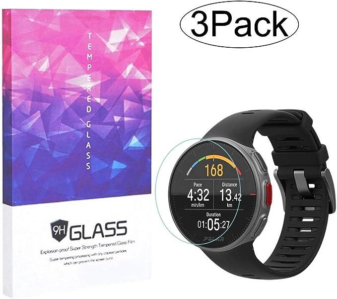 3 unidades] Protector de pantalla de vidrio templado compatible ...
