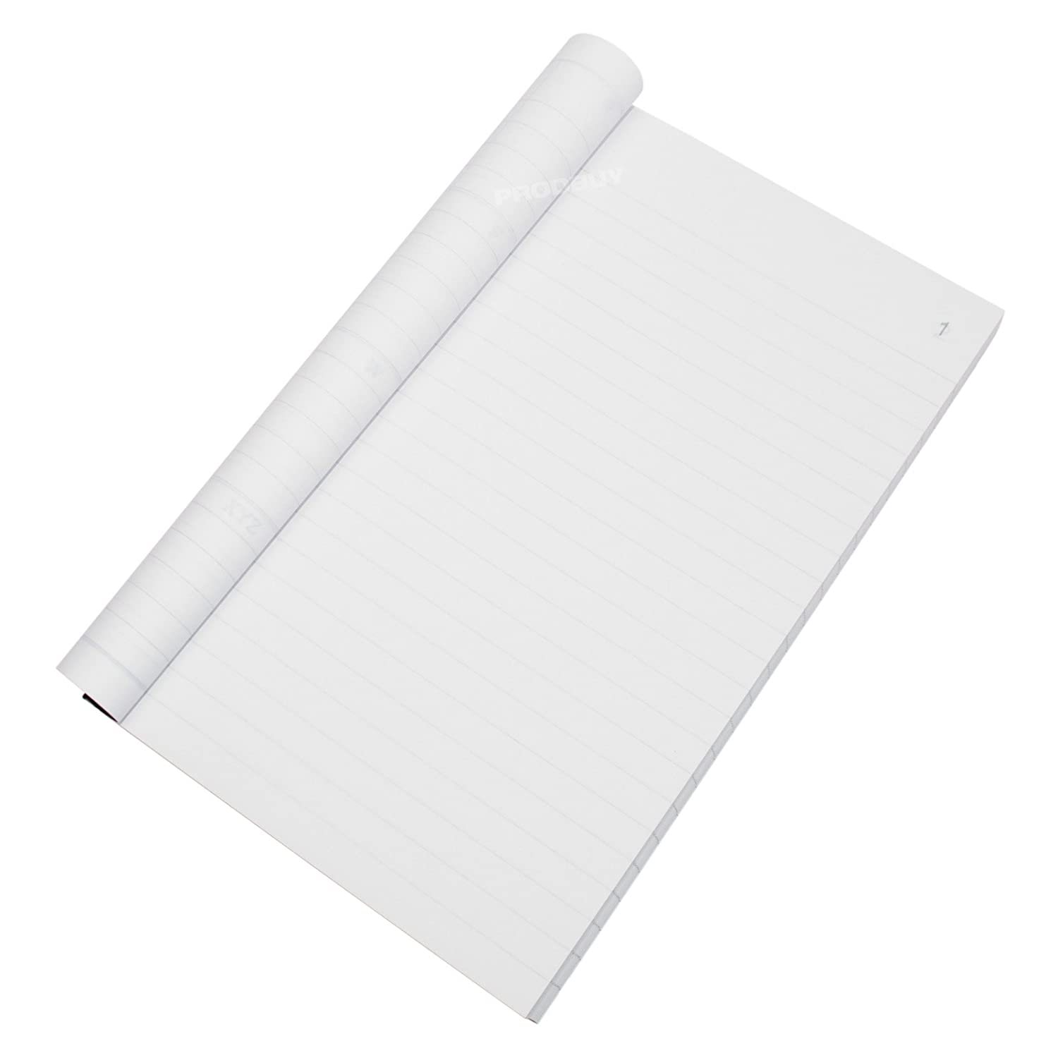 Full Size 100 Leaf Invoice Duplicate Books Receipt Feint Ruled Numbered Pads Pack of 5