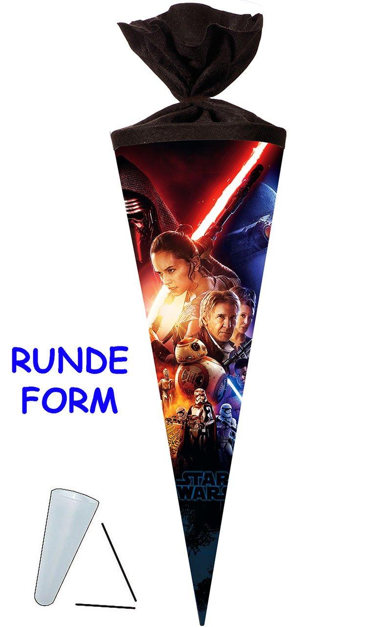 rund oder eck.. f/ür Schult/üte Star Wars // Episode VII alles-meine.de GmbH stabile Spitze Nestler ALLE Gr/ö/ßen 22 // 35 // 50 // 70 // 85 cm aus Kunststoff Zuckert/üte