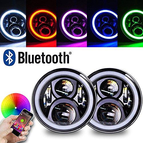 Led Light Rings Headlights - 6