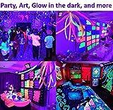 UV LED Black Light, 2 Pack HouLight High Power 20W