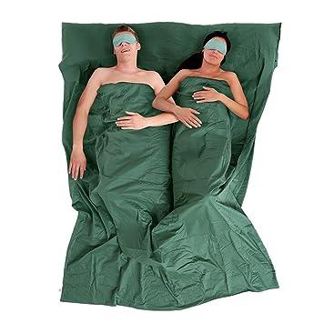 Naturehike ligero algodón cálido saco de dormir Liner Hoja Doble de viaje saco de dormir rectangular