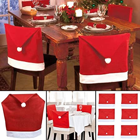 Outstanding Wholesale Solutions Ltd Santa Hat Dining Chair Covers Christmas Party Xmas Table Decoration 10 Squirreltailoven Fun Painted Chair Ideas Images Squirreltailovenorg