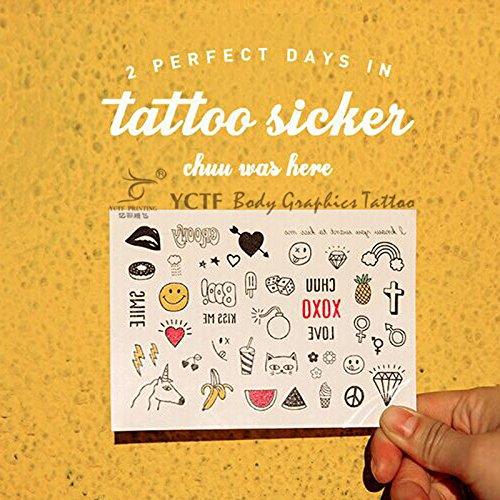 Zokey Waterproof Temporary Tattoo Sticker South Korean