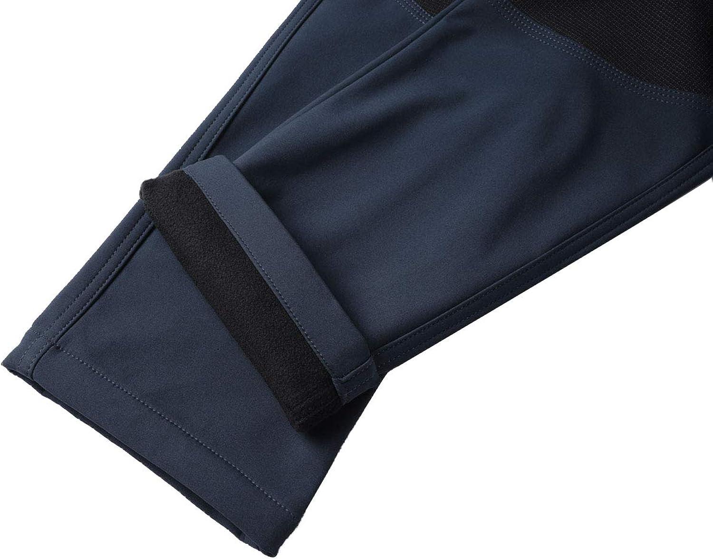 BenBoy Pantalones de Monta/ña Mujer Impermeables Invierno Calentar Pantalones Trekking Escalada Senderismo Softshell