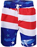 Sykooria Mens Swim Trunks Summer 3D Print Funny Graphic Medium Length Drawstring Casual Beach Surfing Swimming Shorts S…