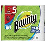 Bounty Select-a-size Paper Towels, Huge Rolls, White, (Packaging May Vary) (4 Rolls)