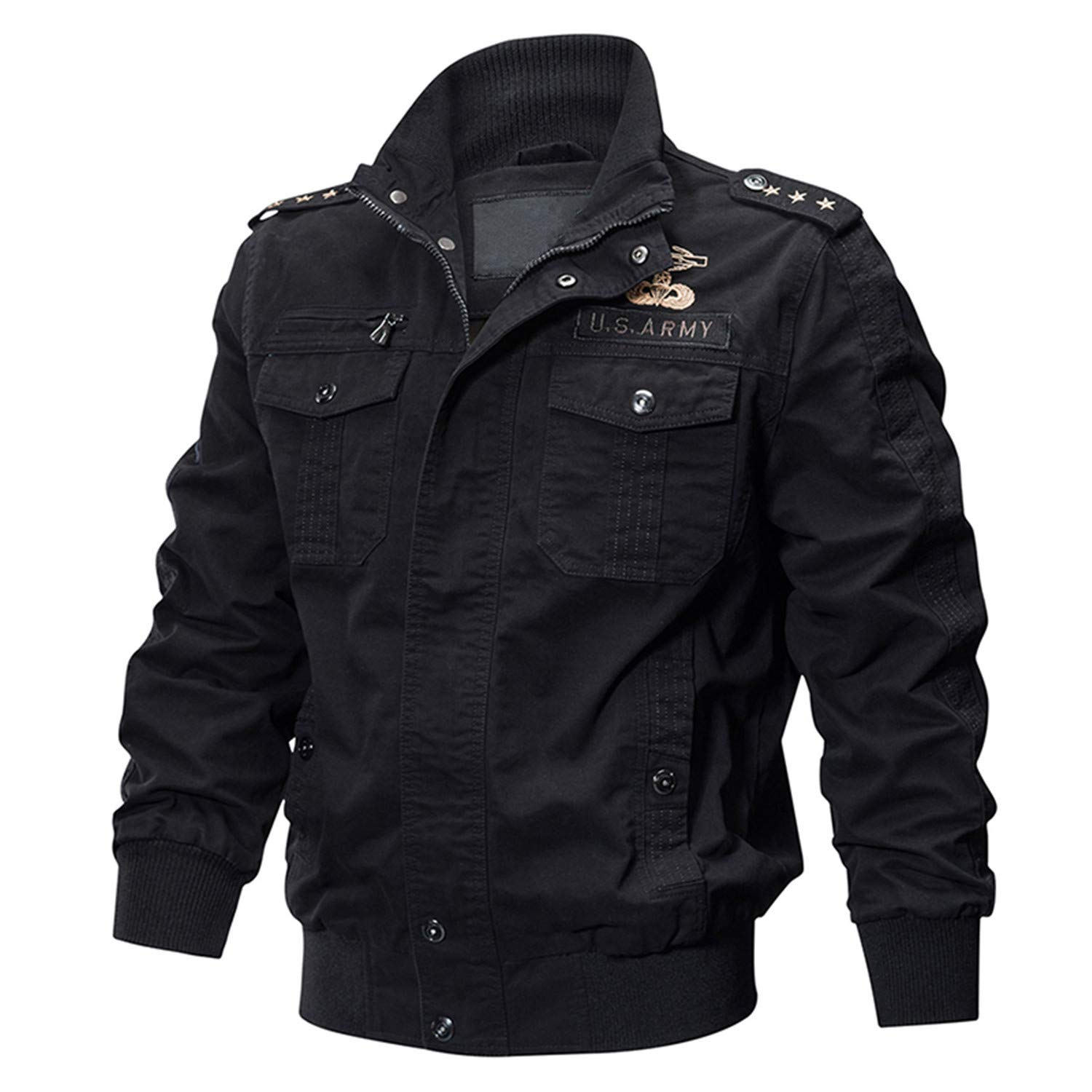 Killer Autumn Winter Military Tactical Jacket Men Cotton Bomber Jackets Cargo Flight Jacket Outwear