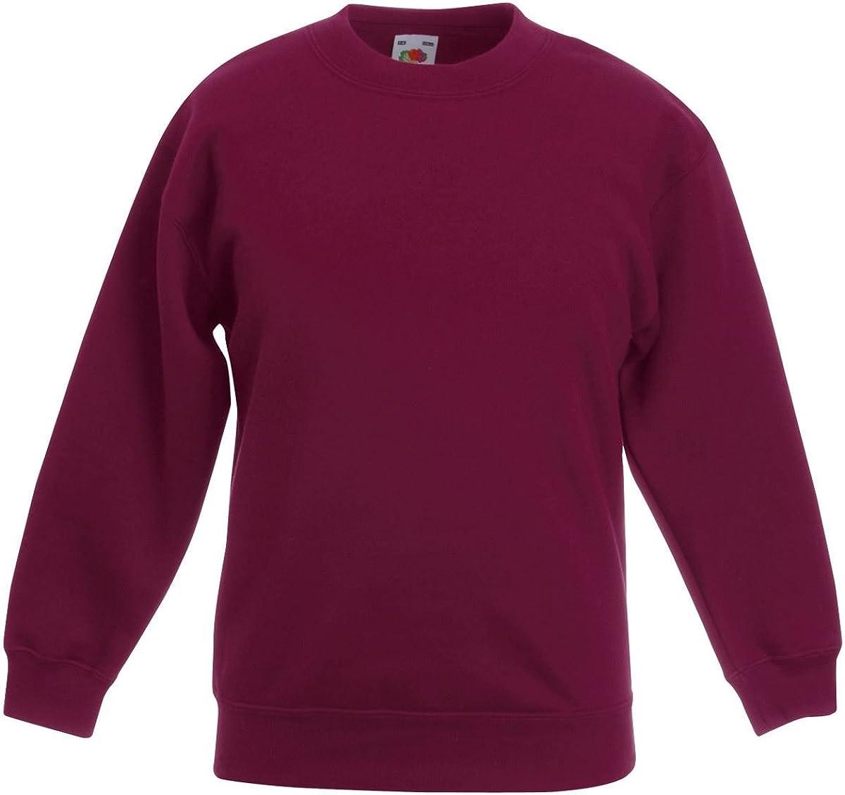 Fruite of the Loom Kinder Sweatshirt vers Farben