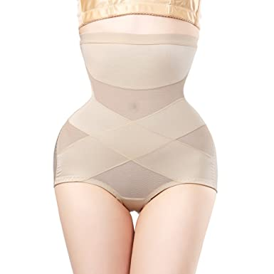 bfe2107eda1c3 Queenral Waist Trainer Shapewear Butt Lifter Slimming Belt Modeling Strap Body  Shaper Apricot