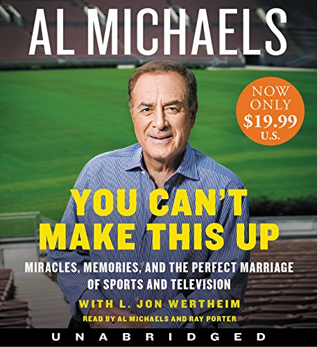 You Can't Make This Up Low Price CD: Miracles, Memories, and the Perfect Marriage of Sports and Television