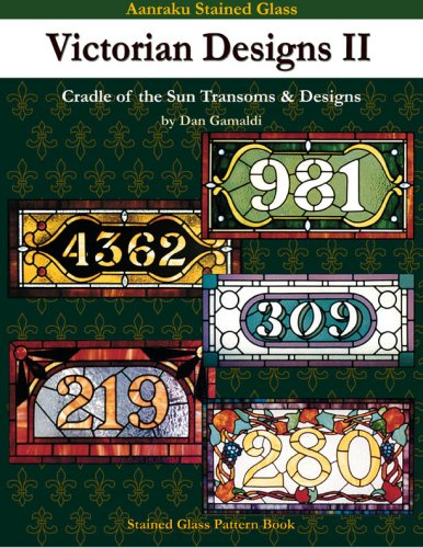 Aanraku Stained Glass Victorian Designs II