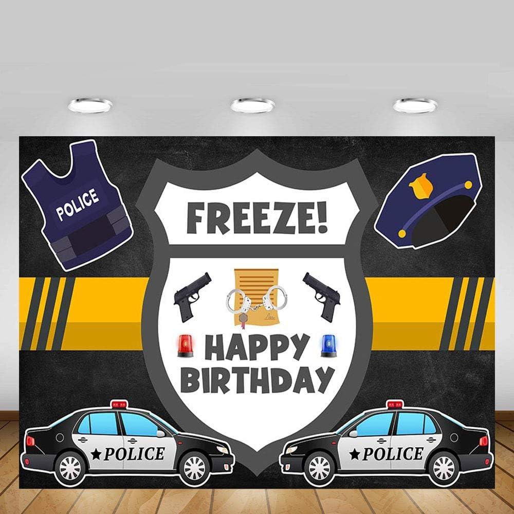 Police Man Men/'s Birthday Boy Birthday Police Car Birthday Police Balloons Police Birthday Party