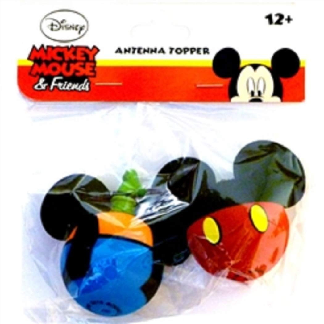Disney Mickey Mouse and Goofy Antenna Topper Set