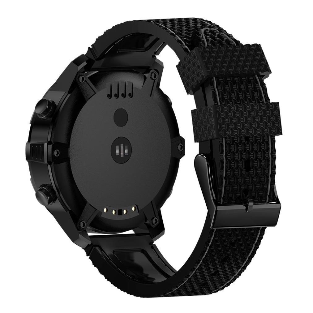 KingProst-Fitness Montre Connectée Bluetooth étanche Smart Watch avec Sim Montre Sport Montre Tracker Fitness Tracker Bracelet avec GPS Boussole ...