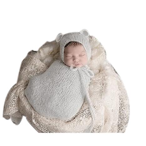 binlunnu Lujo recién nacido fotografía Props Boy Girl - Gorro para ...