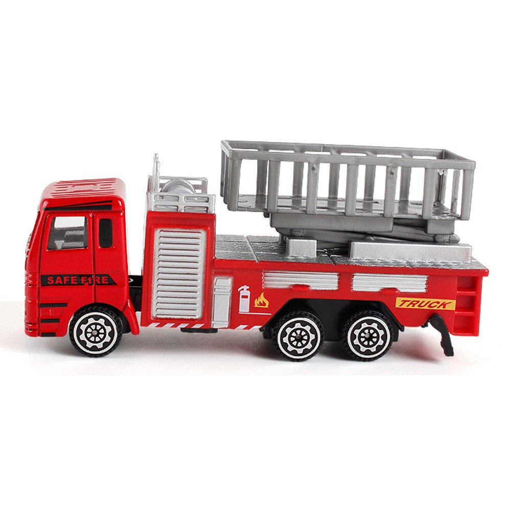 iZHH Children Alloy Engineering Toy Mining Car Truck Children's Birthday Gift Fire Rescue