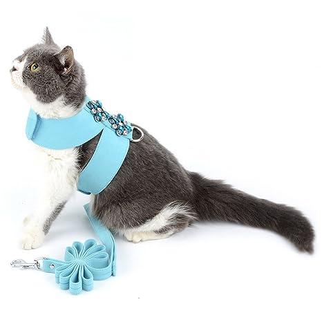 Smille_Lucky_Store - Juego de arnés y Correa para Gato o Cachorro a Prueba de Escape,
