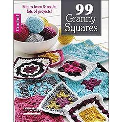 LEISURE ARTS Granny Squares Bk, None