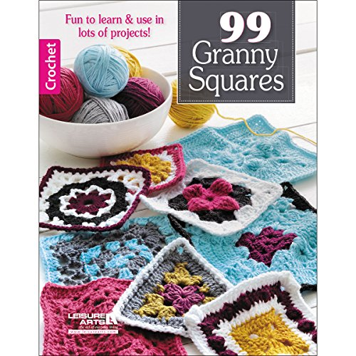 LEISURE ARTS 99 Granny Squares Motifs by LEISURE ARTS