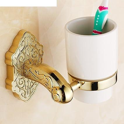 antiguo titular de la taza del cepillo de dientes Europea/vaso/Pintar portavasos doble
