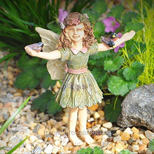Miniature Garden Fairy Courtney - My Mini Garden Dollhouse Accessories for Outdoor or House Decor