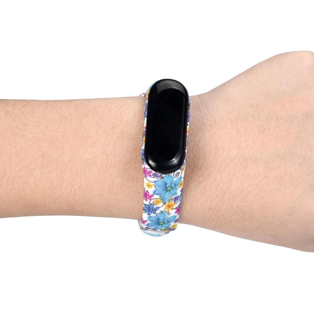 Mode TPU Sport Armband Armband Ersatz Hunpta@ Xiaomi Mi Band 3