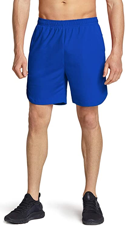 TSLA 4 inches Mens Active Running Shorts Quick Dry Gym Athletic Shorts with Pockets Training Exercise Workout Shorts
