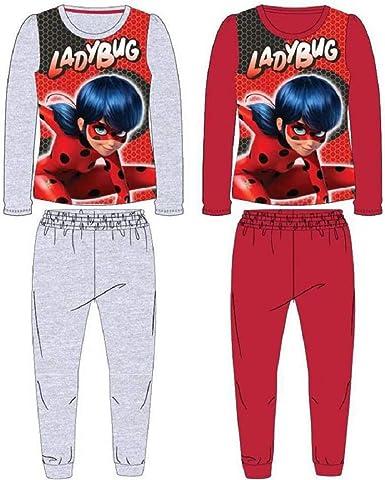Ladybug Ladybug - Pijama polar para niña, color gris gris 8 ...