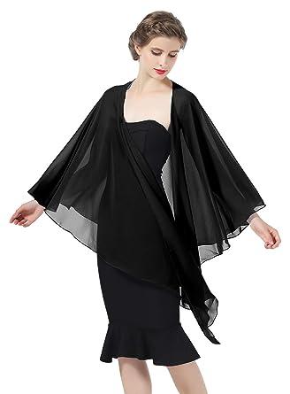 b0f816304aa Shawls Wraps Scarf Chiffon For Women Bridal Wedding Evening Dresses ...