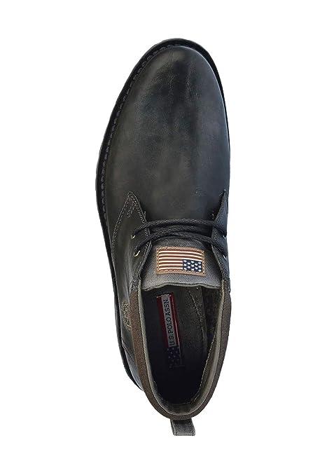 US Polo Assn. Men Desert Boots Black, tamaño:46: Amazon.es ...