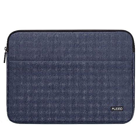 Plemo 13 - 13.3 Inch Laptop Sleeve Denim Fabric Case
