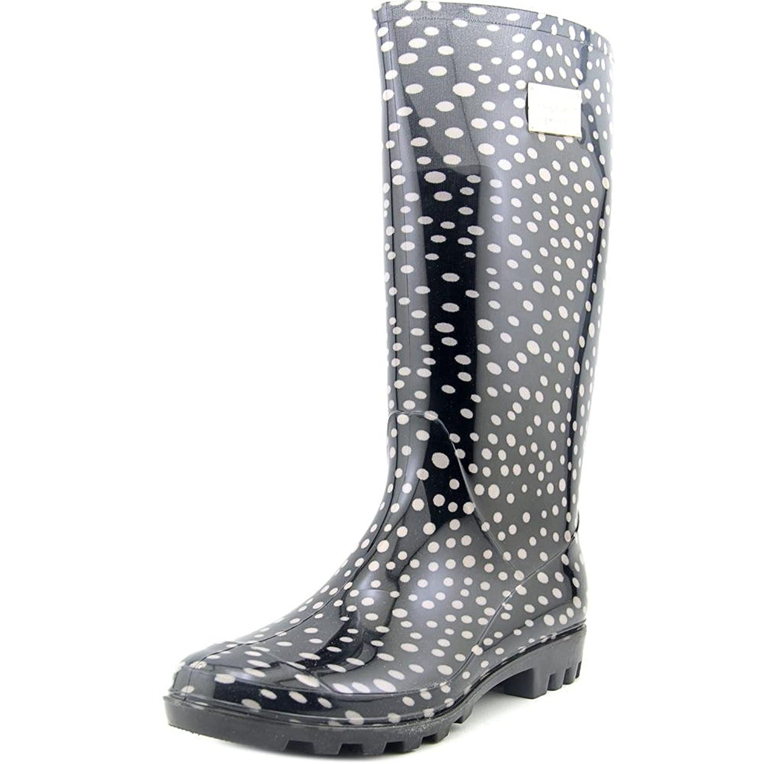 Retro Boots, Granny Boots, 70s Boots Nicole Miller New York Rena Women Round Toe Synthetic Rain Boot $44.69 AT vintagedancer.com
