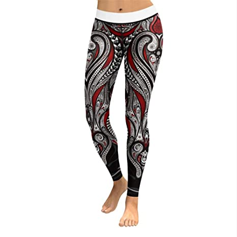 Ytdzsw Pantalones De Yoga De Las Mujeres Pantalones De Chándal De ...