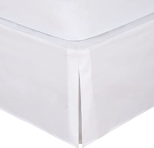 Amazon.com: Bed Maker's Tailored Wrap Around Bedskirt Never Lift