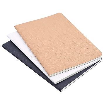 Juego de 3 cuadernos de línea horizontal A5. Agenda de viaje ...