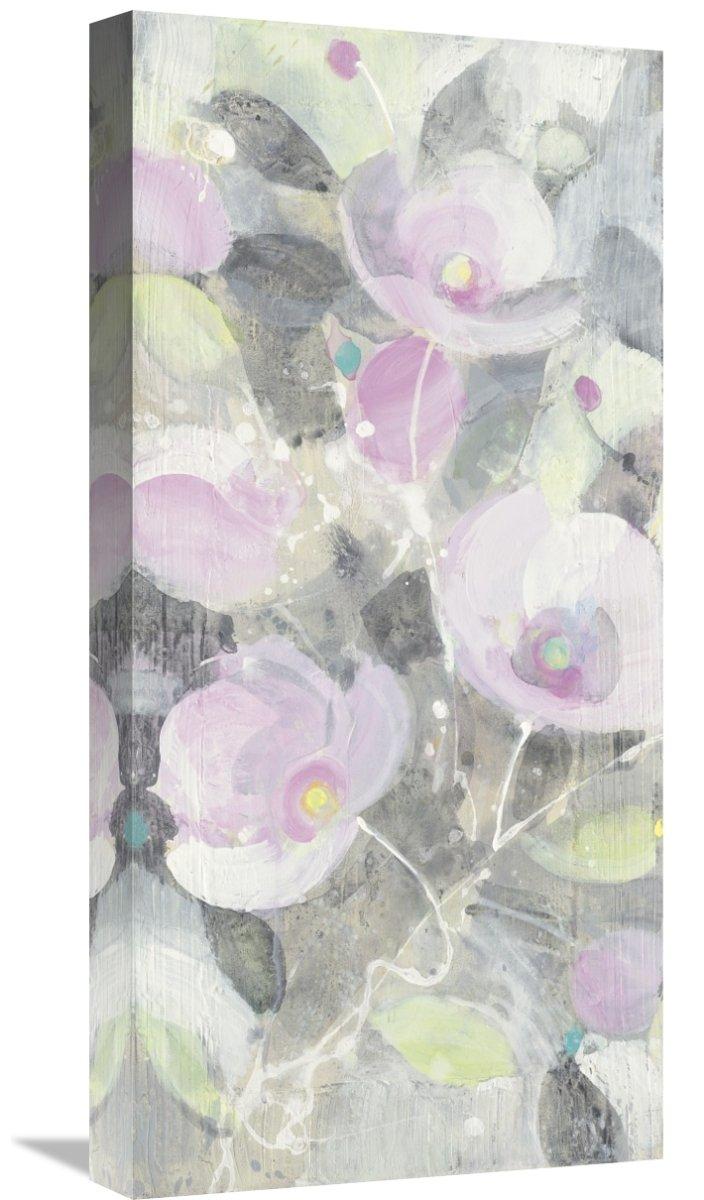 Global GalleryAlbena Hristova Sugar Flowers I Giclee Stretched Canvas Artwork 12 x 24