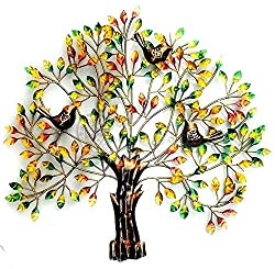 Mohan Jodero Metal Handicraft Wall Decor for Interior Design(Multicolour, 72x76cm)