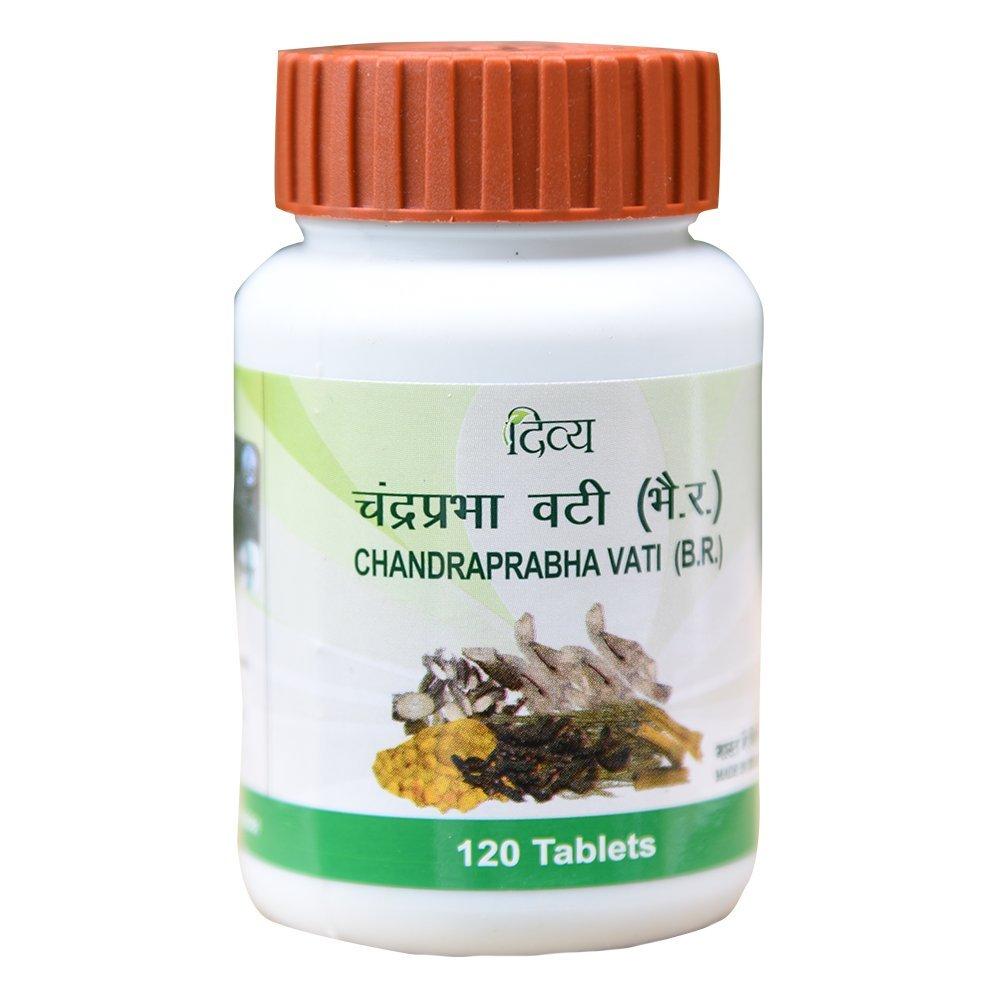 Divya Chandraprabha Vati - 60 g (120 Tablets)