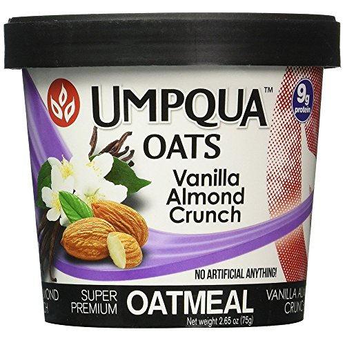 Vanilla Oatmeal (Umpqua Oats Oatmeal, 12 Count - Vanilla Almond Crunch)