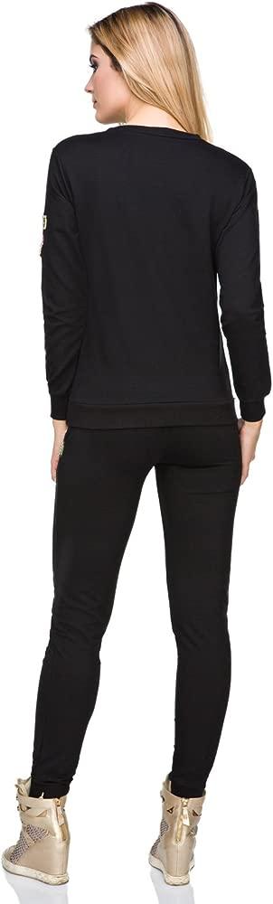 FUTURO FASHION - Pantalón de Traje - para Mujer Negro Negro ...