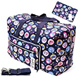 Travel Duffel Bag Foldable Large Travel Bag Weekend Bag Checked Bag Luggage Tote 18 Style 21.6IN x 9.8IN x 13.7IN (cat) Larger Image