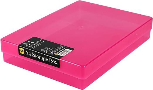 WestonBoxes - Caja de Almacenamiento A4 para papel A4 y ...