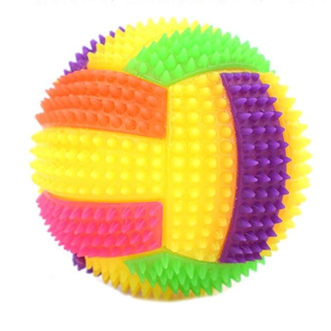 MachinYeser Bola de Voleibol Hinchable Intermitente LED Light ...