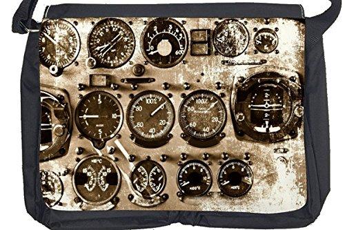 Borsa Tracolla Arma Pozzetto di bombardiere Stampato