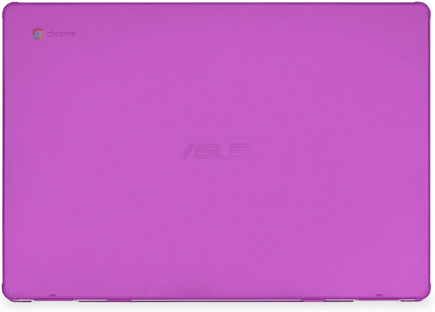 mCover Hard Shell Case for 15.6-inch ASUS Chromebook C523NA Series Laptop - ASUS C523 Purple