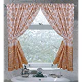 "Carnation FWC-SB ""South Beach"" Fabric Curtain in Ivory"