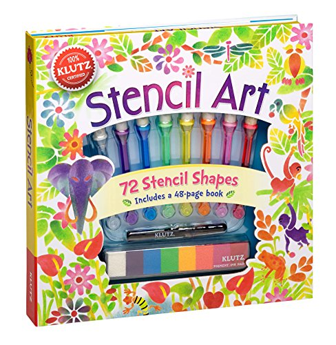 (Klutz Stencil Art Book Kit)