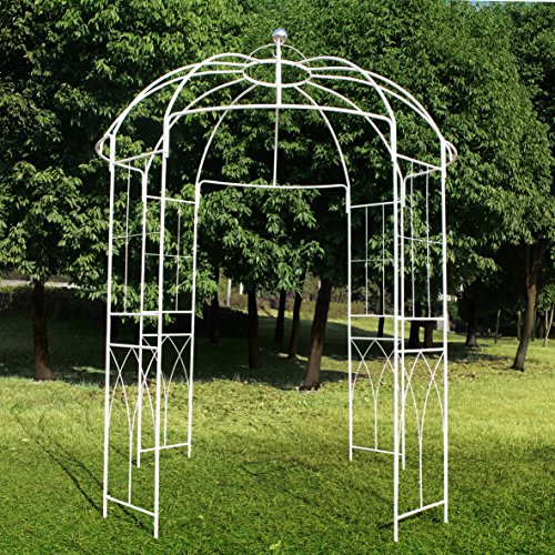 Outour french style 4 sided birdcage shape metal gazebo for French style gazebo