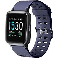 YAMAY Smartwatch, Impermeable Reloj Inteligente con Cronómetro, Pulsera Actividad Inteligente para Deporte, Reloj de…